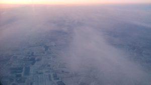 Съемка с самолета