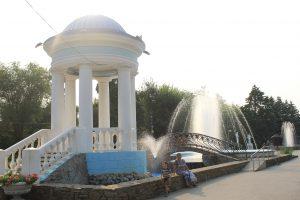 Ротонда в Парке гидростроителей