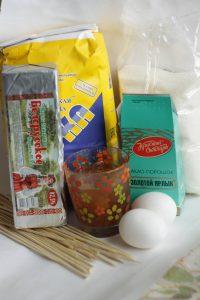 Ингредиенты для пряников